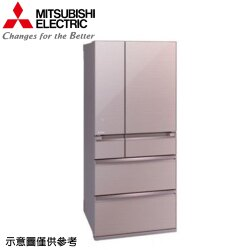 【MITSUBISHI 三菱】705公升日本原裝變頻六門冰箱MR-WX71Y-P【三井3C】