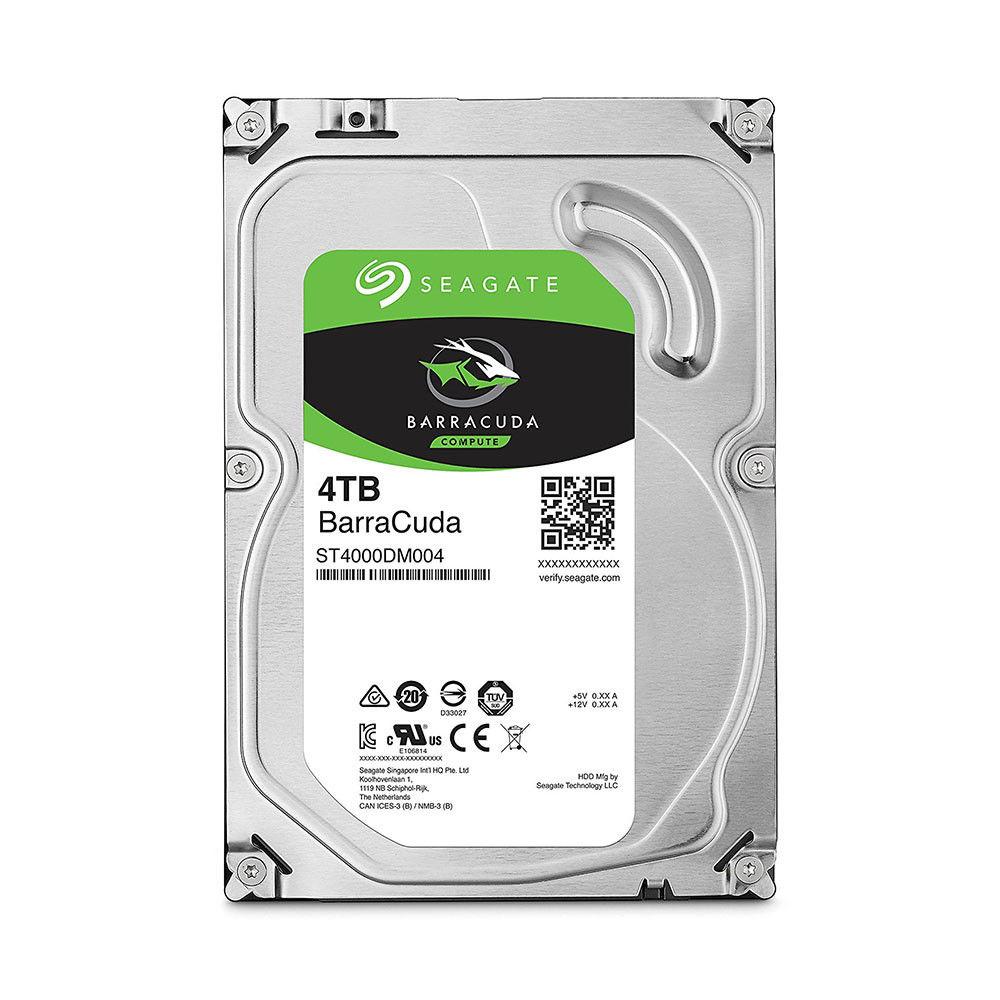 【滿3千10%回饋】Seagate【BarraCuda】新梭魚 4TB 3.5吋桌上型硬碟(ST4000DM004)