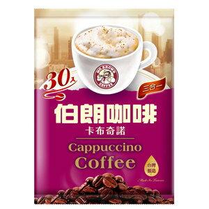 金車 伯朗咖啡-三合一卡布奇諾 (17gX30包入)/袋