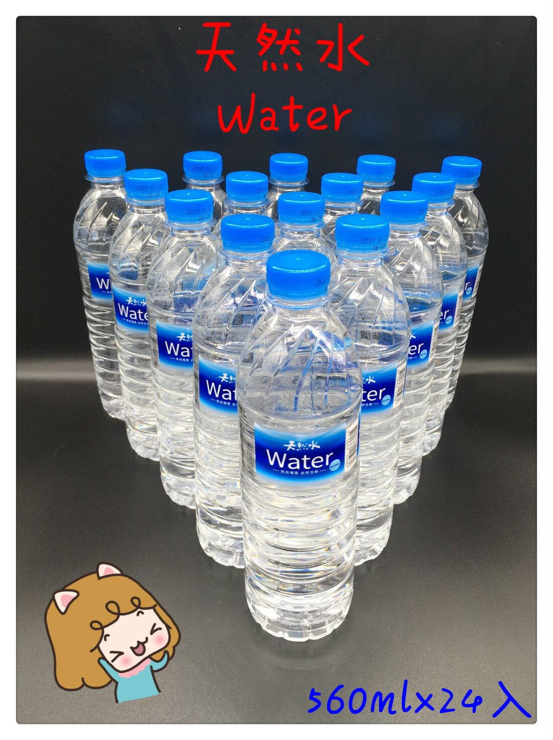 天然水 宅配免運 天然水560ml x 24入 礦泉水 竹炭水 海洋鹼性離子水 多喝水 純水 悅氏