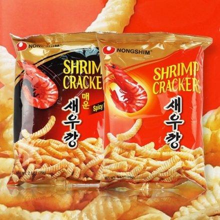 韓國農心鮮蝦條75g【櫻桃飾品】【27841】