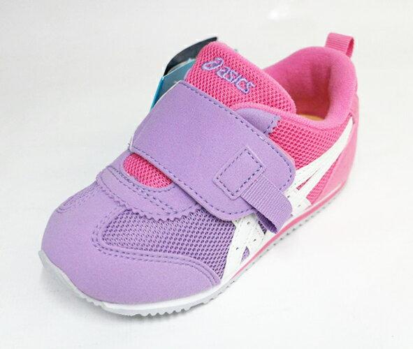 陽光運動館:ASICS亞瑟士嬰幼透氣大開口童鞋IDAHOBABYTUB171-3501(紫粉)[陽光樂活]