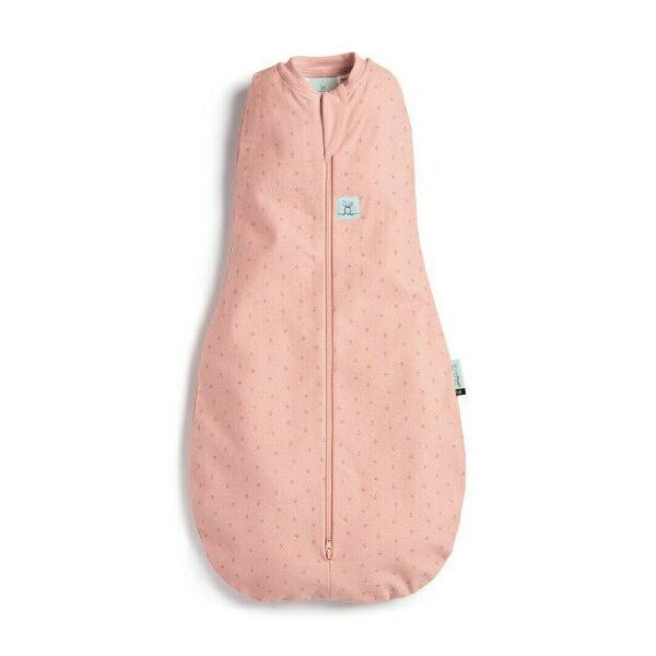 【全品牌任兩件贈三角圍兜】ergoPouch ergoCocoon 0.2T二合一舒眠包巾-莓果粉 (0~12m) 懶人包巾