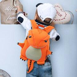 [現貨] Dinosuer & Me 兒童恐龍立體防水透氣後背包 恐龍包 書包 野餐包