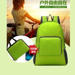 【瞎買天堂x超級實用】旅行專用可折疊後背包 行李裝不下時 1秒馬上變出一個後背包!【BGAA0209】