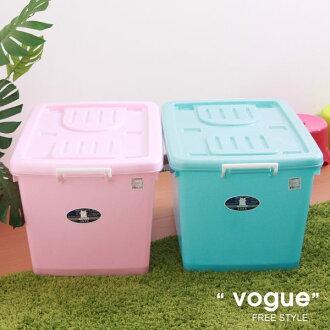 E&J【652071】Mr.box免運費,C800彩瓷滑輪整理箱L90L*3入(兩色可選) 收納箱/收納袋/衣櫃/衣櫥
