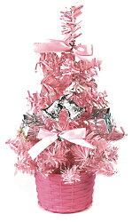 X射線【X080415】繽紛成品小樹(粉),聖誕樹/聖誕佈置/聖誕燈/會場佈置/材料包/成品樹/小樹