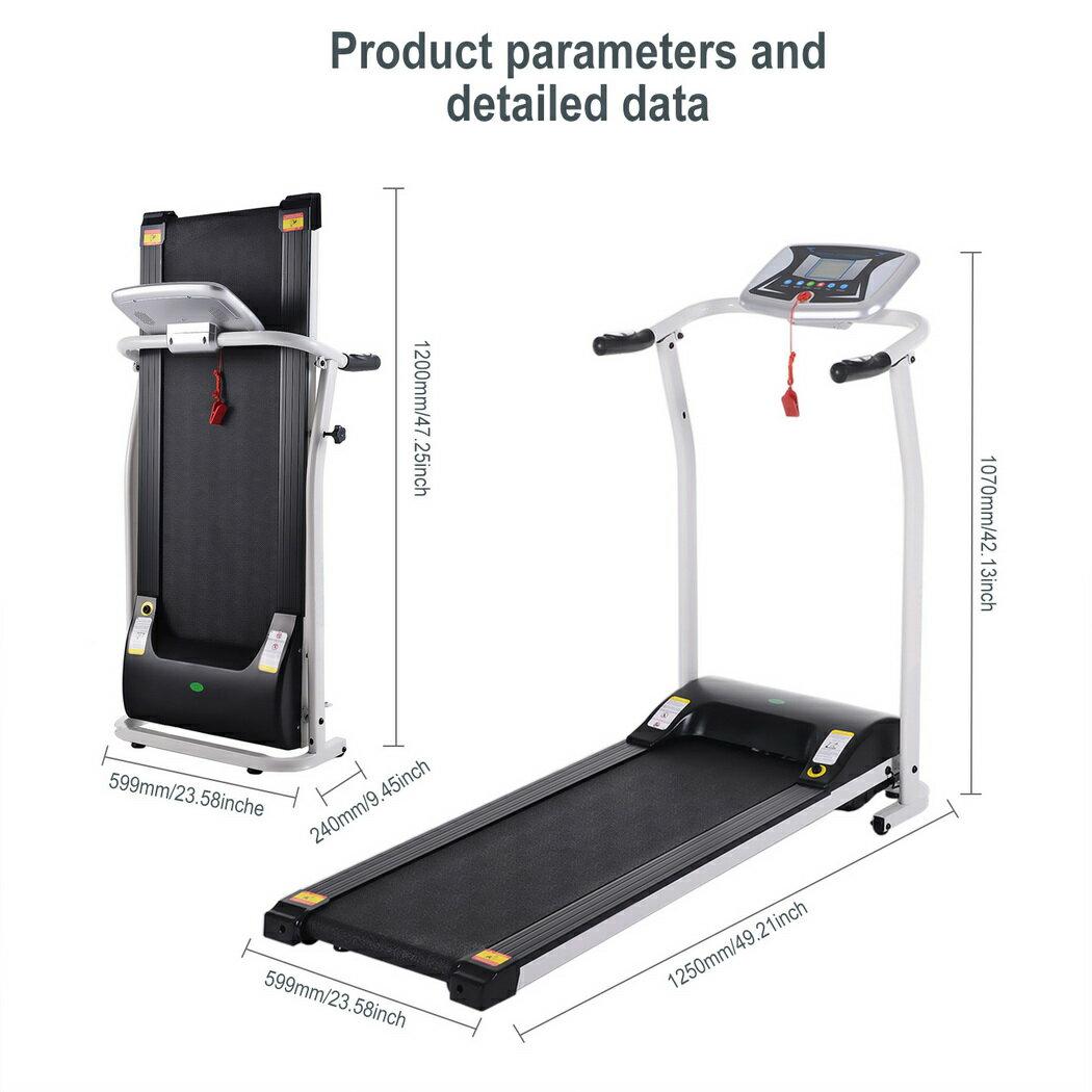 Ancheer Mini Folding Electric Running Training Fitness Treadmill 1