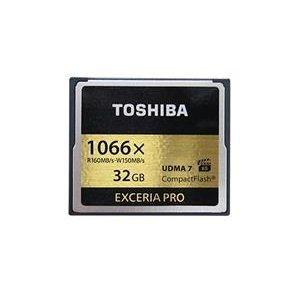 【新風尚潮流】 TOSHIBA CF記憶卡 32G 32GB 1066X 寫150 THN-C501G0320A6