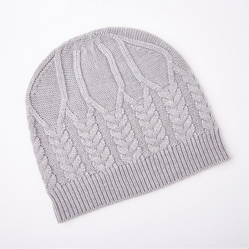 毛帽羊毛針織帽-純色麻花加厚護耳男帽子3色73wj42【獨家進口】【米蘭精品】 2