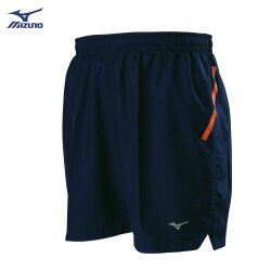 J2TB805114(深丈青)股下13cm 後中拉鍊口袋設計  男路跑褲 【美津濃MIZUNO】