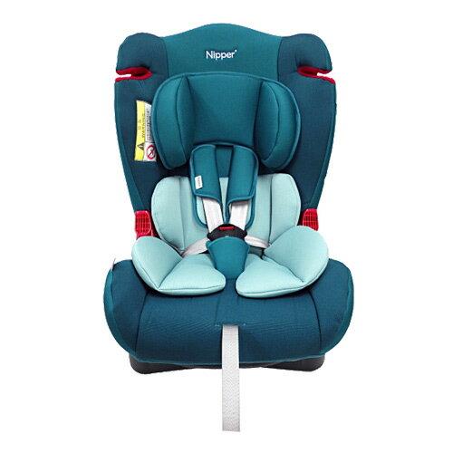 【奇買親子購物網】Nipper 0-7歲兒童汽車安全座椅(藍/紅)