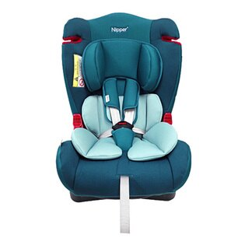 【奇買親子購物網】Nipper0-7歲兒童汽車安全座椅(藍紅黑)