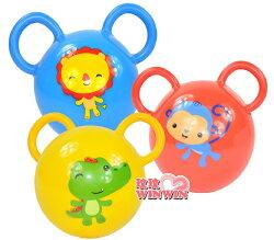費雪牌(FisherPrice)F0602 費雪拉拉搖鈴球,色彩鮮艷,吸引寶寶愛不釋手!