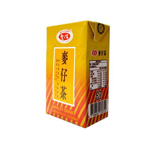 <br/><br/> 愛之味麥仔茶(微甜)250ml*24【愛買】<br/><br/>