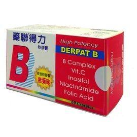 藥聯得力B軟膠囊 60粒/盒◆德瑞健康家◆