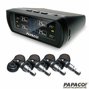 【新風尚潮流】PAPAGO TireSafe S60I 無線太陽能 胎內式 胎壓偵測器 兩年保固 S60I