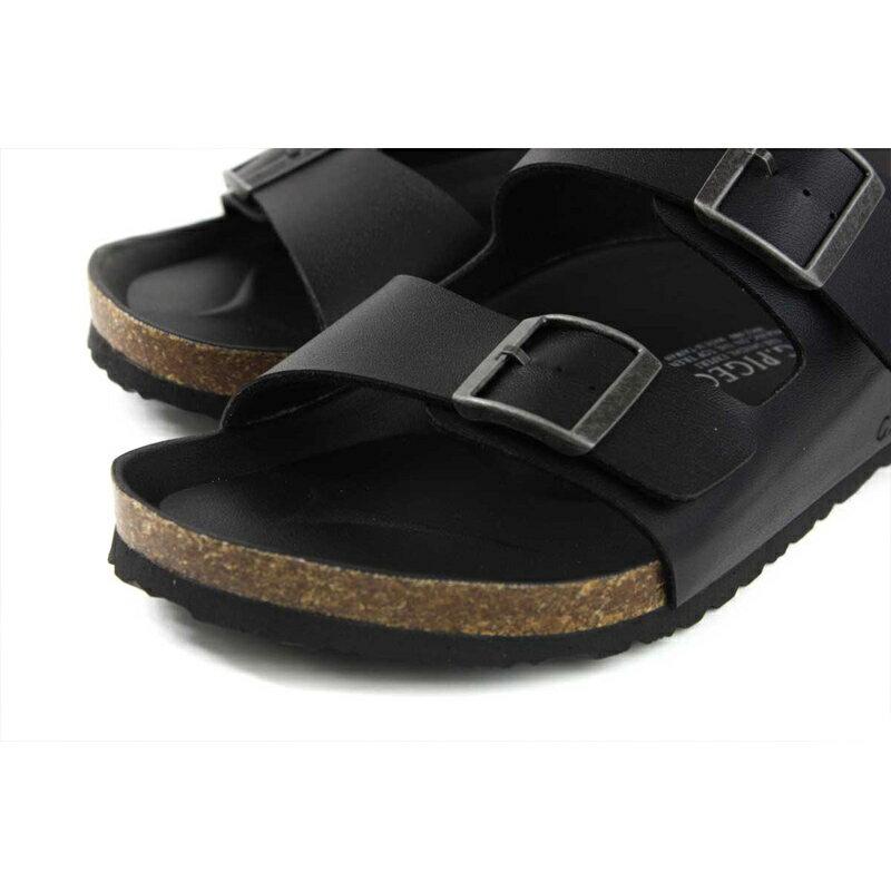 G.P 阿亮代言 拖鞋 勃肯鞋 黑色 男鞋 M371-10 no051 3