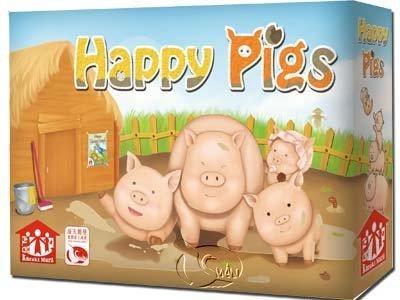 含稅附發票 養豬趣 The Happy Pigs 繁中版 方舟風雲會益智桌遊 實體店正版