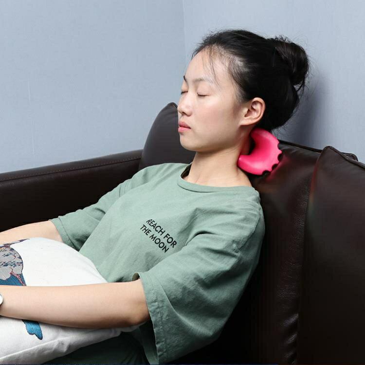 【百淘百樂】頸椎按摩器肩頸手動夾脖子經絡辦公室家用頸部手持式按 熱銷~