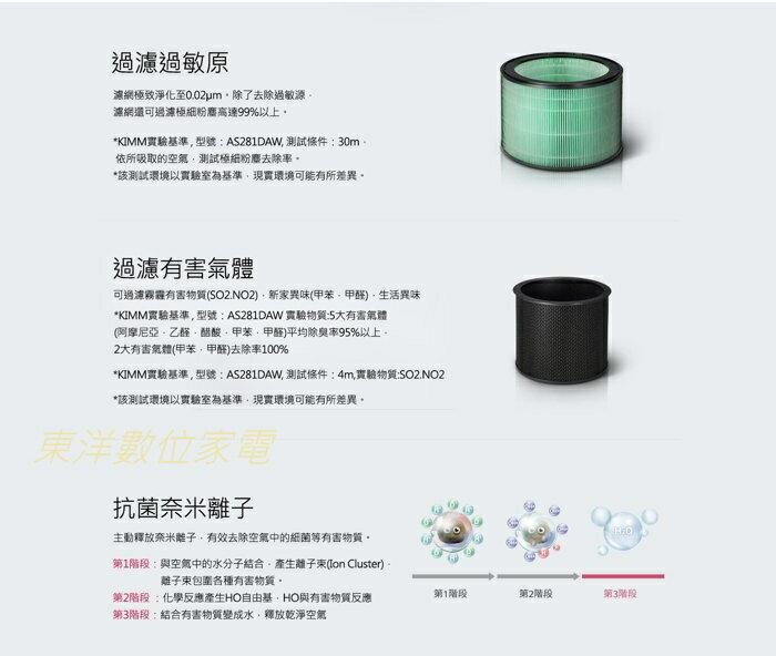 LG 樂金 AAFTDT101 三合一高效率濾網 AS601/951使用 空氣清淨機 公司貨