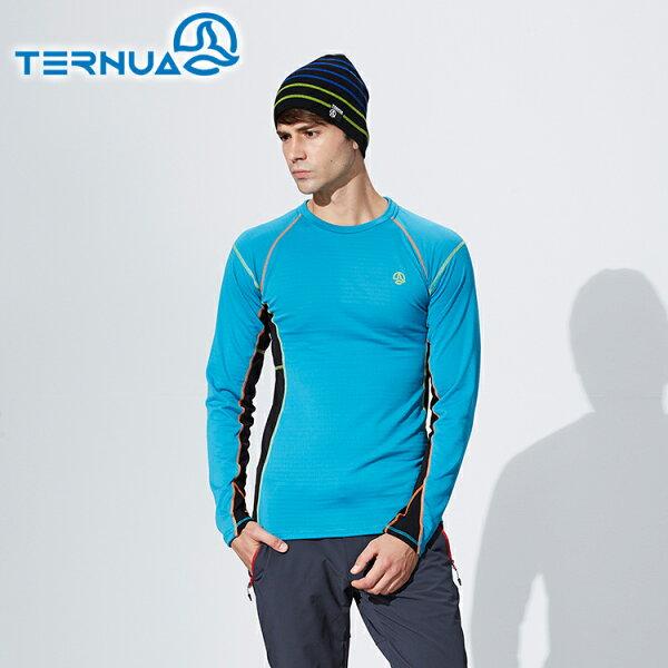 TERNUA男POLARTEC彈性保暖中層衣1205353城市綠洲(西班牙品牌.排汗快乾.抗臭)