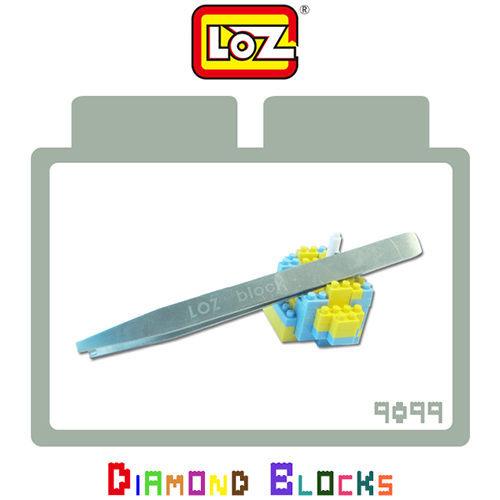 【微笑商城】LOZ迷你鑽石小積木樂高式專用夾子不鏽鋼材質積木夾子原廠正版工具款