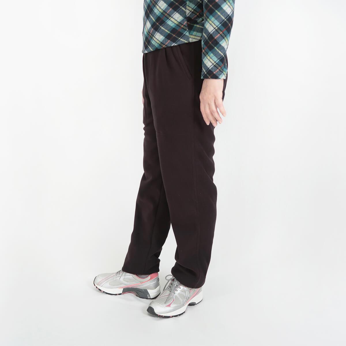 加大尺碼台灣製超細搖粒毛保暖褲 內裡刷毛保暖長褲 保暖棉褲長褲 機能纖維 全腰圍鬆緊帶 一件抵多件 MADE IN TAIWAN WARM FLEECE PANTS FLEECE LINED (020-2805-08)深藍色、(020-2805-19)深咖啡 腰圍M L XL 2L 3L(28~42英吋) 男女可穿 [實體店面保障] sun-e 3