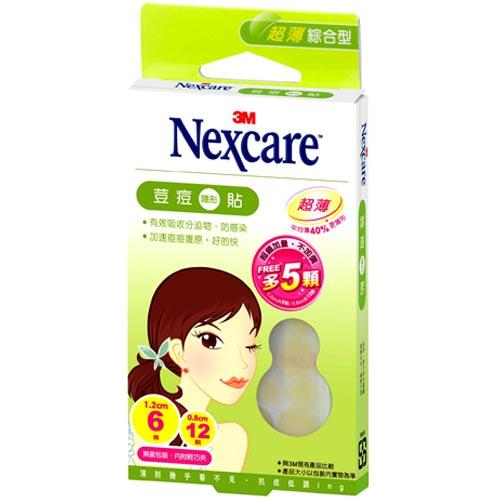 3M Nexcare 荳痘隱形貼 超薄綜合型