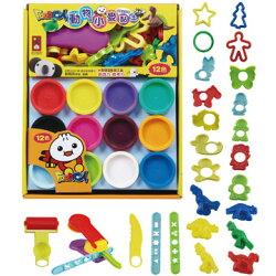 【風車圖書】動物篇小麥黏土12色-FOOD超人10152514