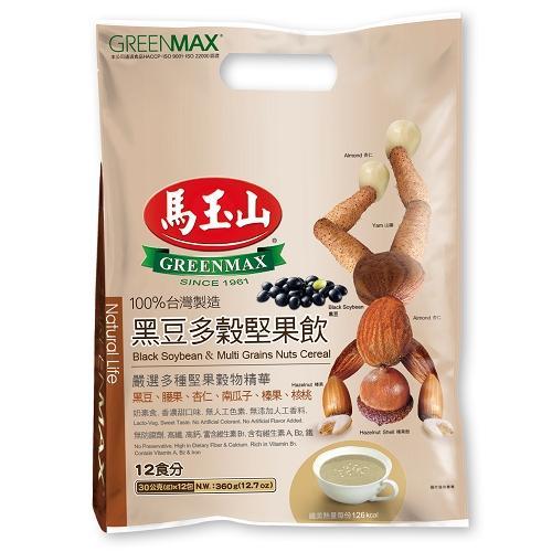 馬玉山黑豆多穀堅果飲30g x12【愛買】