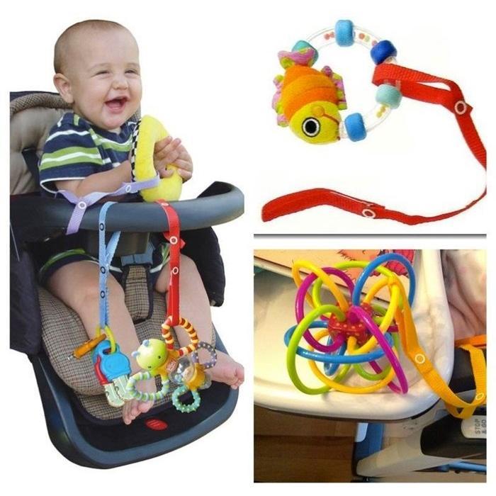 〔熊爸爸〕嬰兒用品 嬰兒車玩具綁帶 安全座椅 嬰兒床 奶嘴 奶瓶 無毒 安全商品 不挑色 【ZZ-X001】