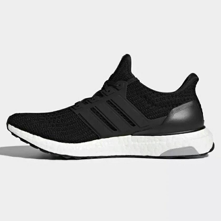 【全館滿額88折】Adidas Ultra Boost 4.0 男鞋 慢跑 馬牌大底 編織 襪套 柔軟 緩震 黑【運動世界】 BB6166