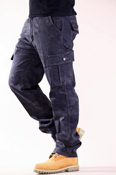 【任選3件$999】韓風迷彩 特級彈力 大口袋 耐磨 工作褲 長褲 7300【CS衣舖 】 4