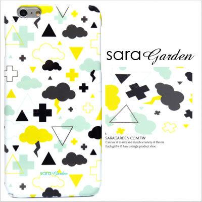 SaraGarden:客製化手機殼iPhone766SPlus【多型號製作】保護殼插畫雲朵閃電圖騰