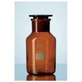 《實驗室耗材專賣》德製DURAN SCHOTT 玻璃廣口瓶(茶色) 50ML 磨砂24 / 20 實驗儀器 試藥瓶 玻璃儲存瓶 0