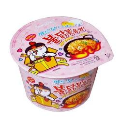 (現貨!) 三養 韓國 辣雞奶油義大利麵(碗) 培根奶油辣雞麵 粉紅辣雞   甜園小舖▶全館滿499免運