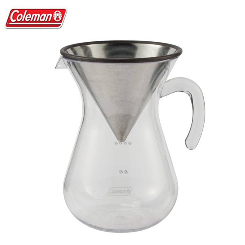 【露營趣】中和安坑 Coleman CM-26782 手沖濾式咖啡器具組 茶壺 咖啡壺 戶外水壺 冷水壺 飲料杯