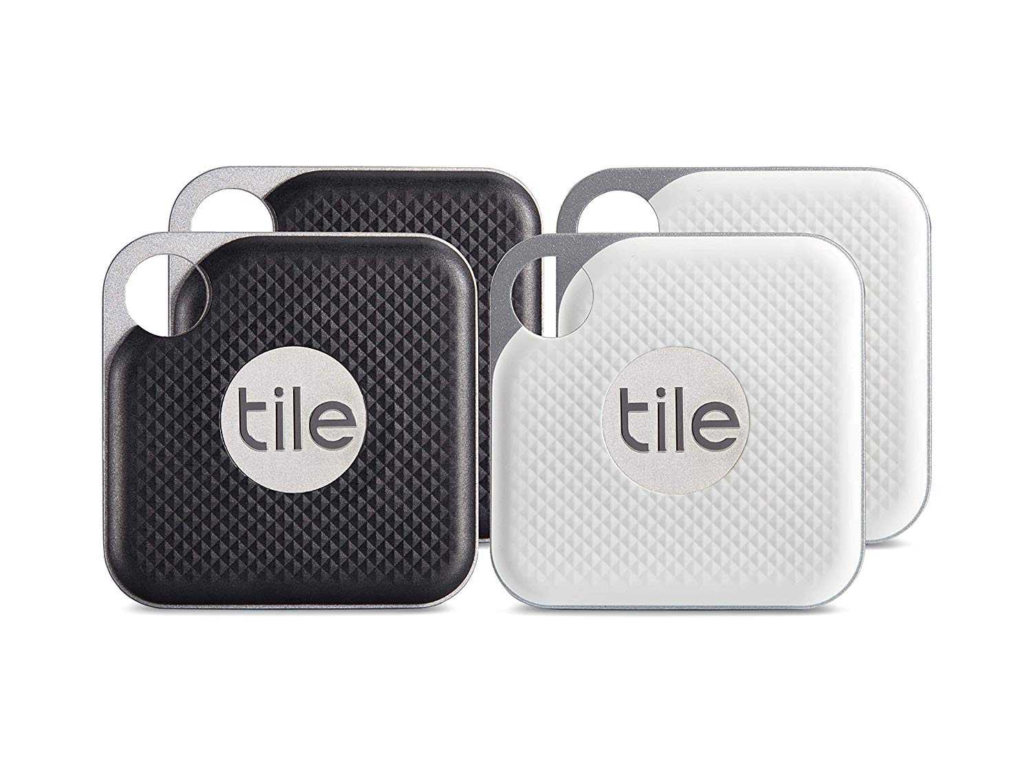 4-Pack Tile Pro Tracker Black and White Combo (2018)