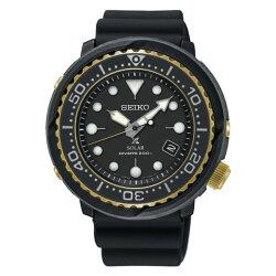 Seiko 精工錶 V157-0CX0X(SNE498P1) PROSPEX 廣告款太陽能潛水橡膠腕錶 47mm
