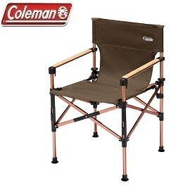 [Coleman]舒適達人3段式帆布甲板椅咖公司貨CM-33138