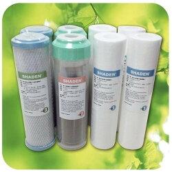 SHADEN 淨水器專用濾心 【F3】 三重過濾式 淨水器 FA300 專用濾心 一年份 新風尚潮流