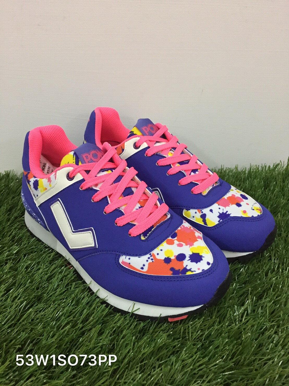 ★限時特價990元★ Shoestw【53W1SO73PP】PONY 復古慢跑鞋 內增高 紫粉色 女生 0