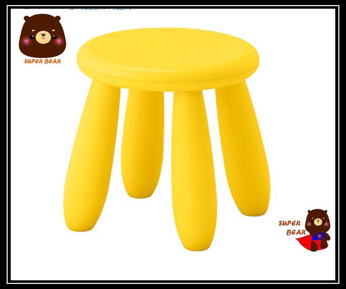 矮凳 兒童椅 三色 室內 / 戶外用MAMMUT / IKEA 3