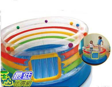 [COSCO代購 如果沒搶到鄭重道歉] Intex 彩虹充氣跳跳床 W106609