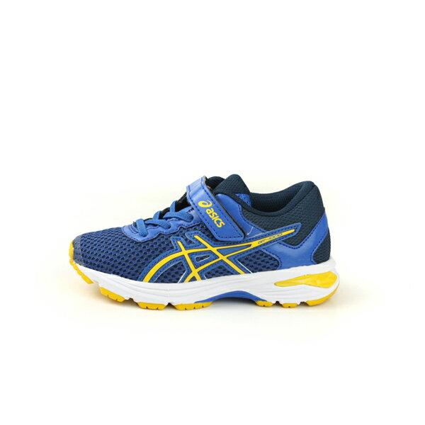 亞瑟士 ASICS GT-1000 6 PS  慢跑鞋 運動鞋 深藍色 中童 C741N-4504 no286 6