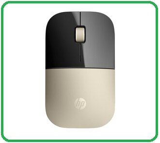 【2017 開春限量版 】HP Z3700 X7Q43AA 金 Wireless Mouse 2.4GHz/1200dpi 無線滑鼠