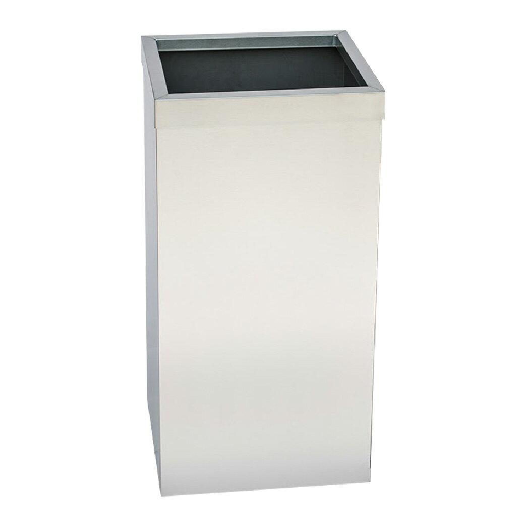 不鏽鋼紙巾垃圾桶(無內桶) :TH-610S: 回收桶 分類桶 清潔 廚餘桶 環保