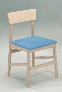 【尚品傢俱】799-40洗白色橡膠木餐椅