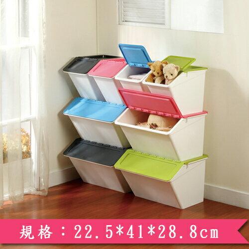 樹德SHUTER大嘴鳥整理箱MHB2341-時尚粉紅(22.5*41*28.8cm)【愛買】